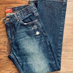 Arizona Original Boys Lightly Distressed Jeans